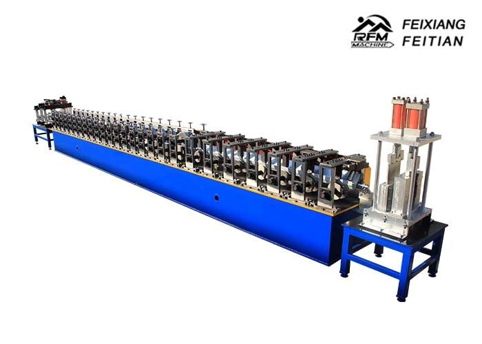 Galvanized Metal Rain Gutter Machine / Steel Trough Roll Forming Machine