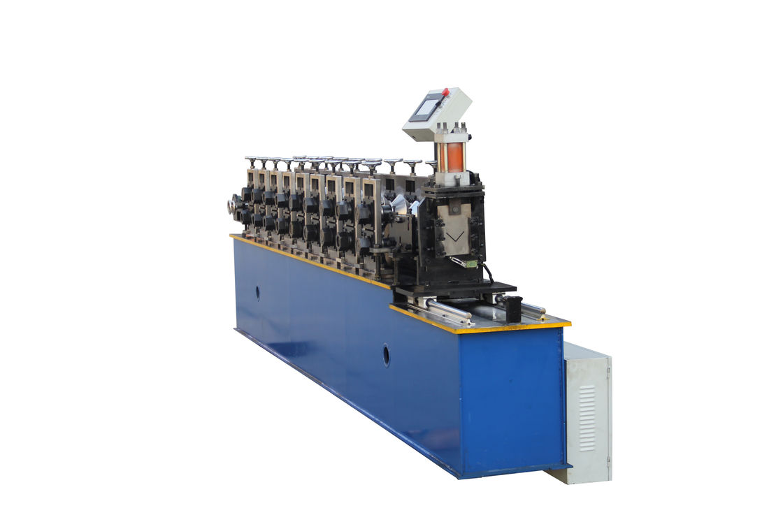 Ceiling Grid Wall Angle Rolling Machine , Galvnized Sheet Metal Forming Equipment