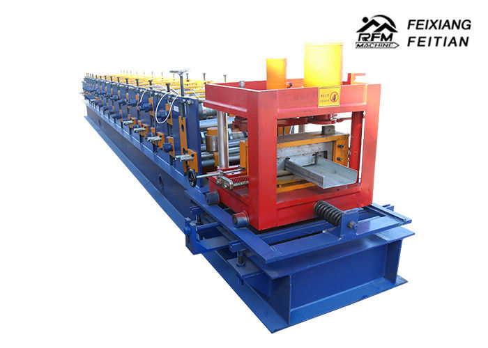 Galvanized Steel Profile Sheet Roofing Machine , Reliable C Z Purlin Making Machine