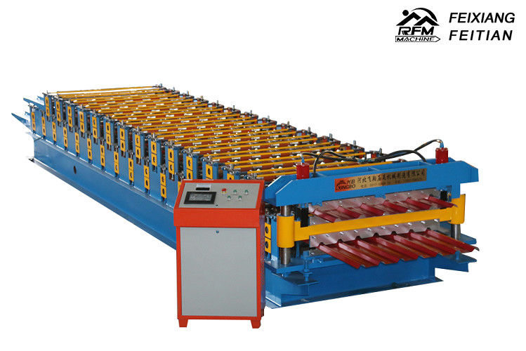 Double Layer IBR Roll Forming Machine Easy Operate For Steel Roofing ISO Approved