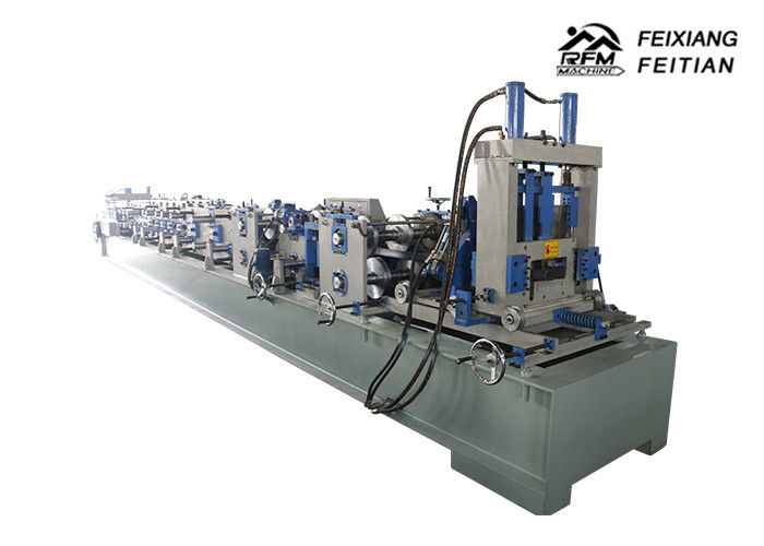 Full Automatic Adjustable Purlin Roll Forming Machine C Z Channel 1.5-3mm Thickness